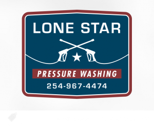 lone star pressure washing logo