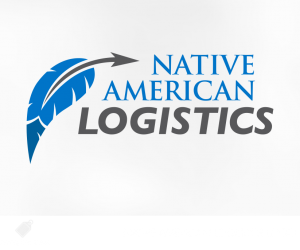 native american logistics logo