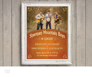 sherman mountain boys poster
